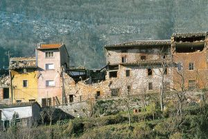 Belvedere di Fabriano prima della ricostruzione