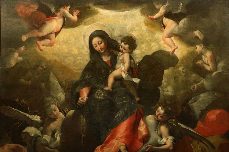 Madonna del Rosario Federico Barocci ecomarche