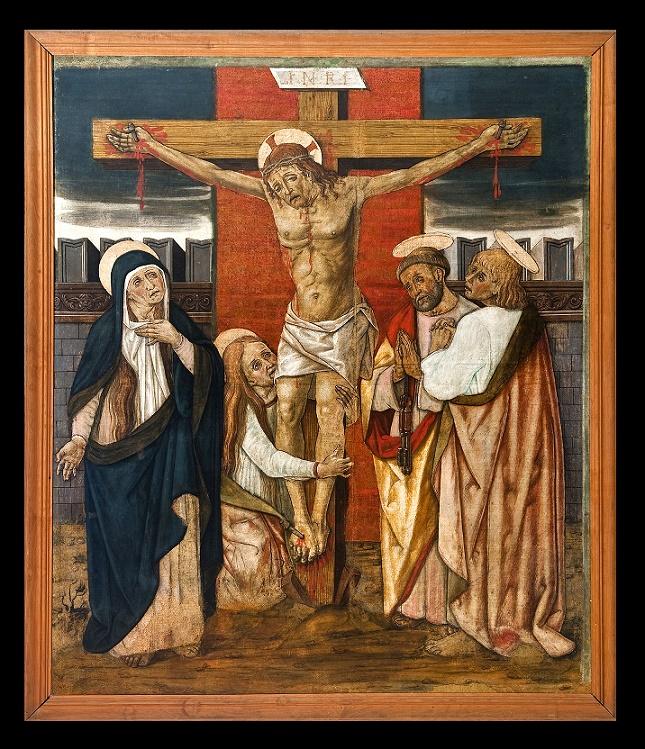 V. Crivelli, Crocifissione