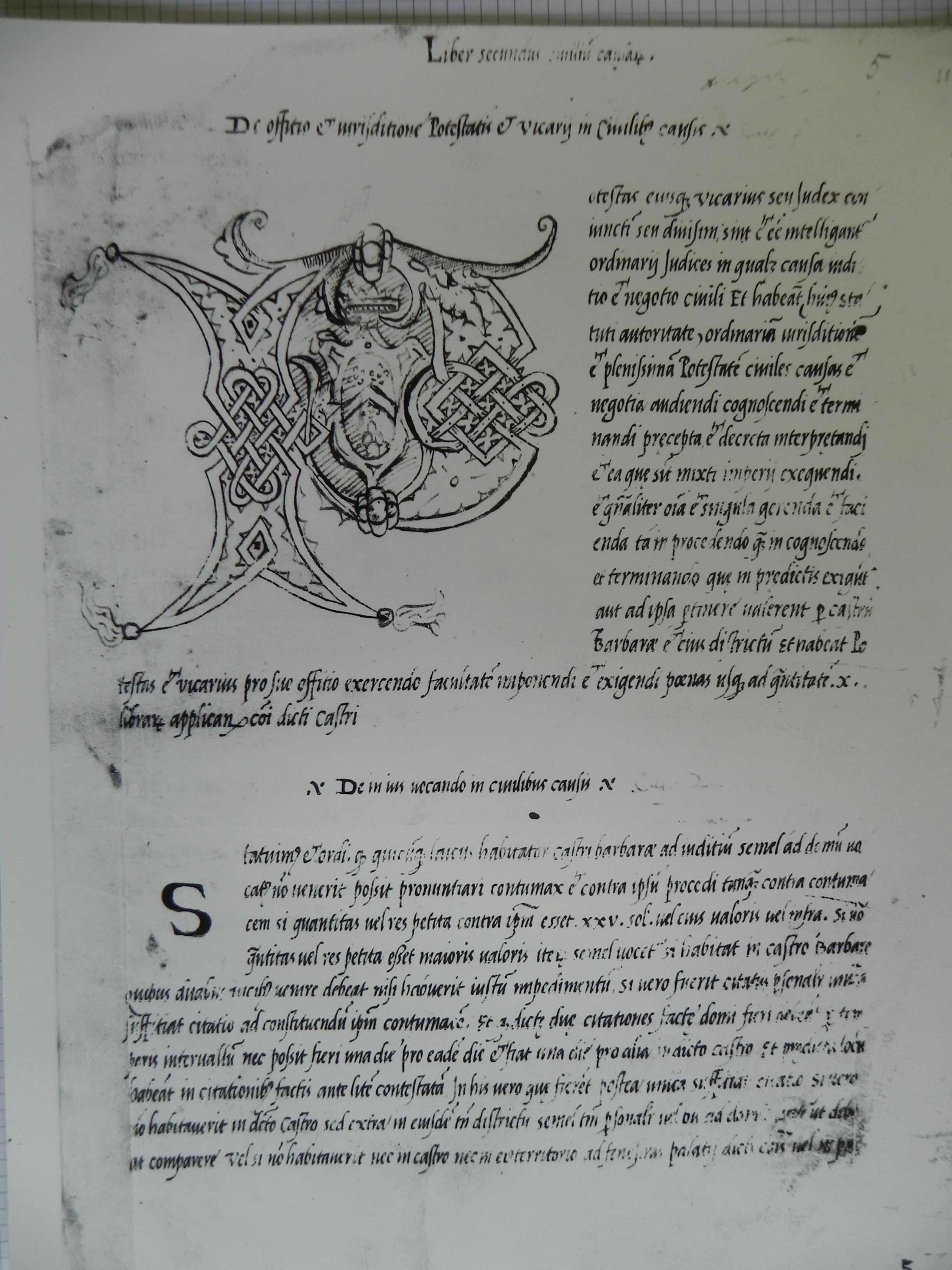Stemma medievale di Barbara