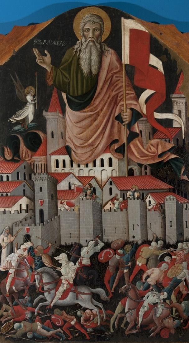 Sant_Andrea-e-la-battaglia-tra-ginesini-e-fermani_Nicola-di-Ulisse-da-Siena