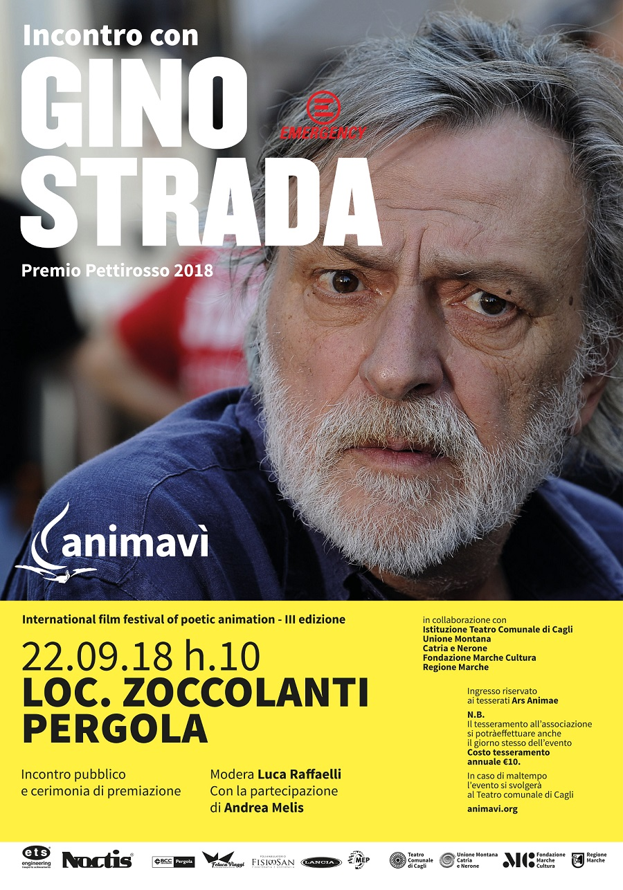 GINO STRADA LEGGERA ecomarchenews