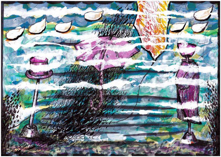 Segni e forme tra le nuvole di Carlo Iacomucci ecomarche