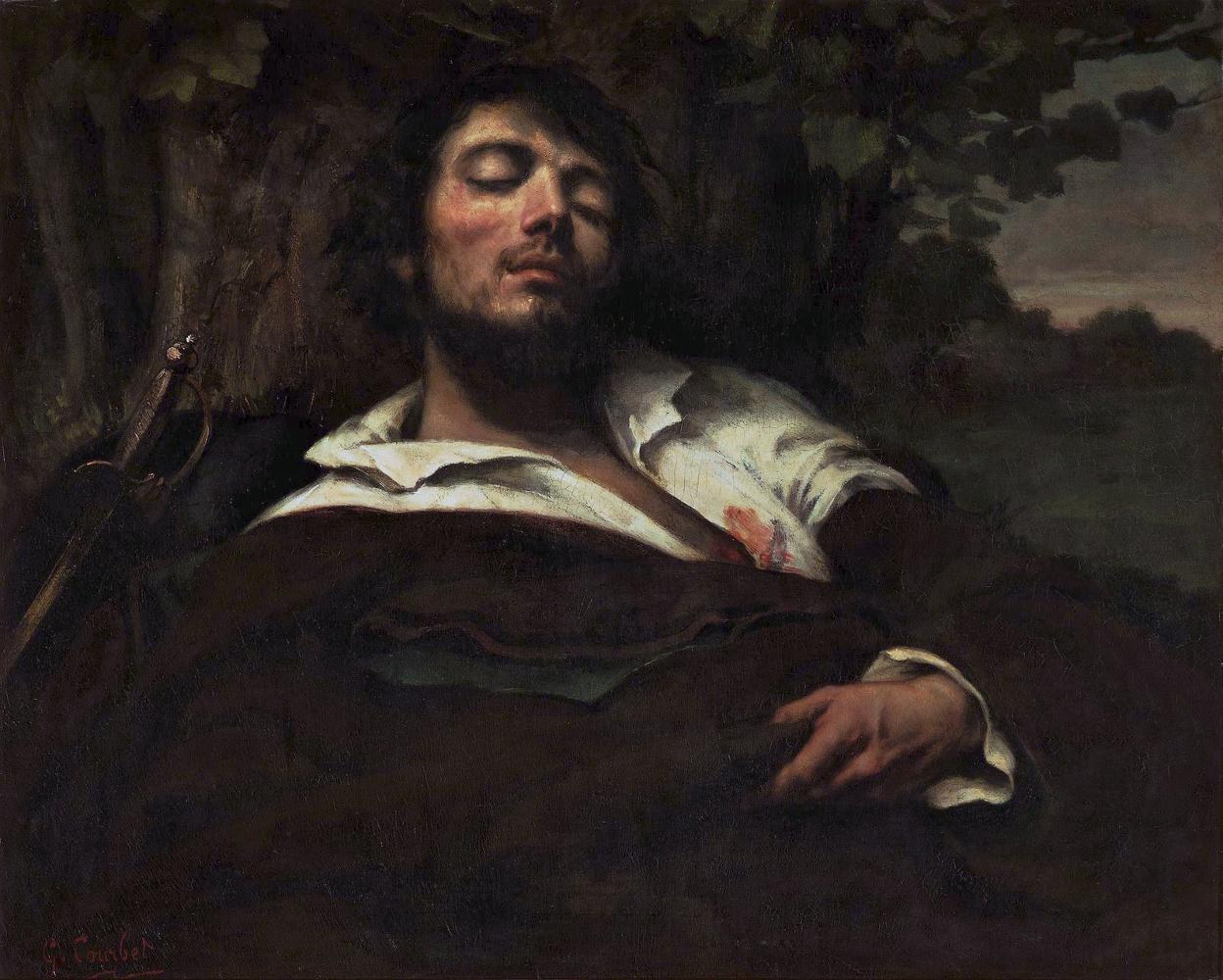 L'homme blessé_Courbet_ecomarche