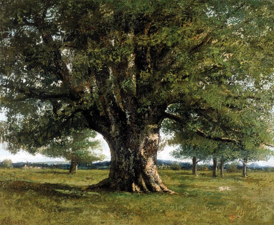 la quercia di flagey_Courbet