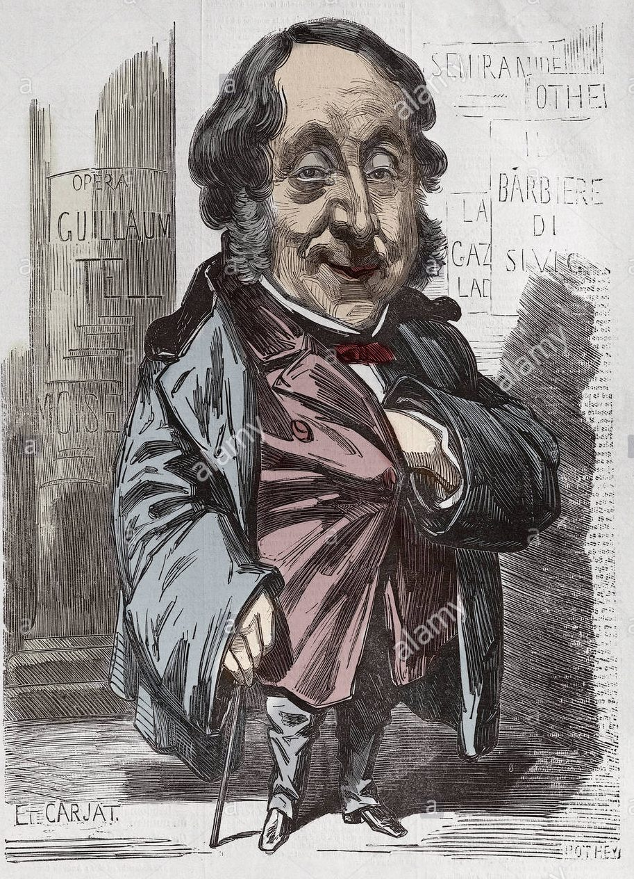 portrait-of-gioachino-gioacchino-rossini-1792-1868-caricature-by-etienne ecomarche