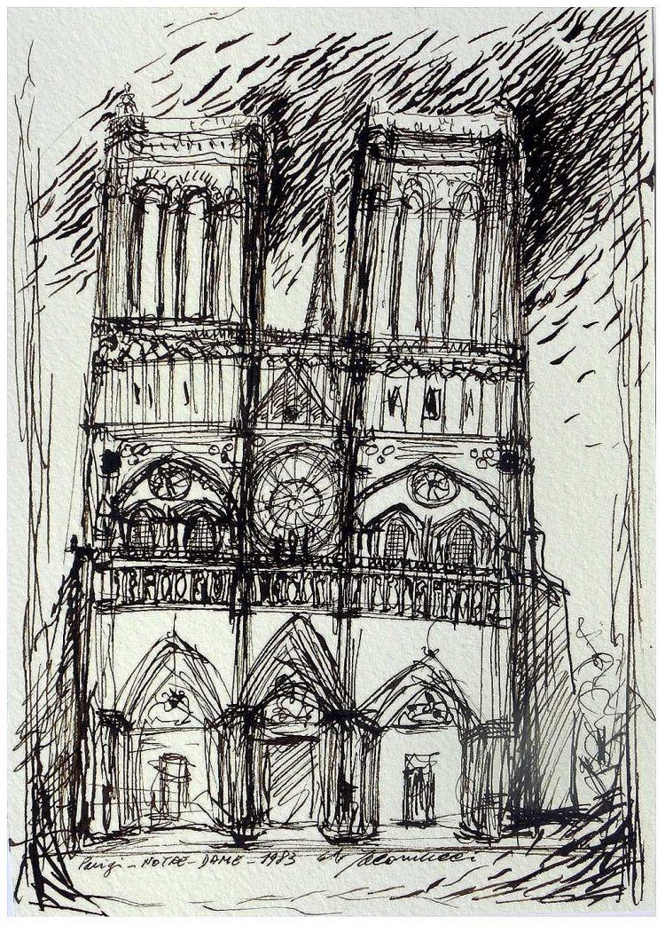 Notre Dame-Parigi 1983- Iacomucci - ecomarchenews.com