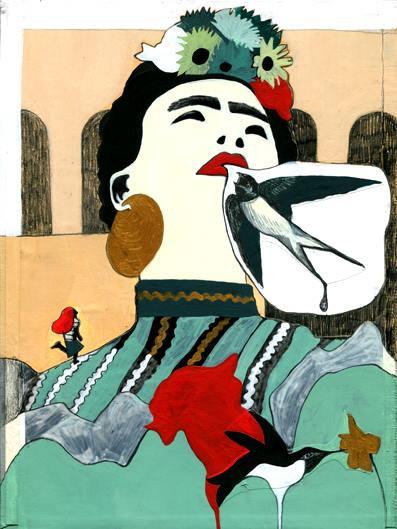 redream, dai sogni si dipanano le illustrazioni: vere e proprie opere d'arte