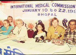 Rosalie Bertell Bhopal