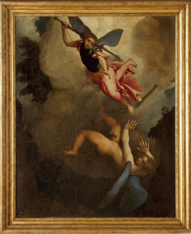 San-Michele-arcangelo-e-Lucifero Lorenzo Lotto