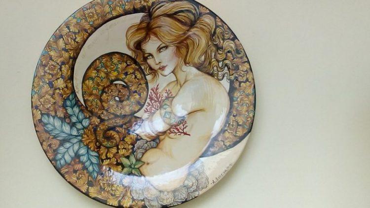 piatto in ceramica_Ascoli_Piceno